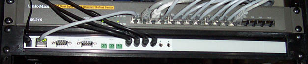 gc-100-18 in rack