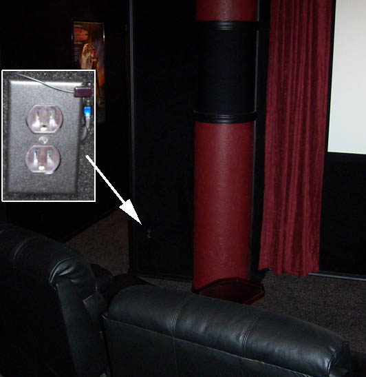 Ir setup in home theater