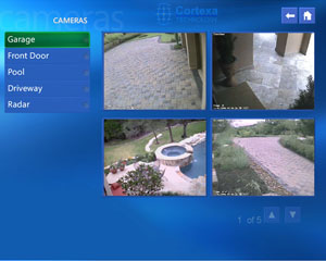 Cortexa video camera page