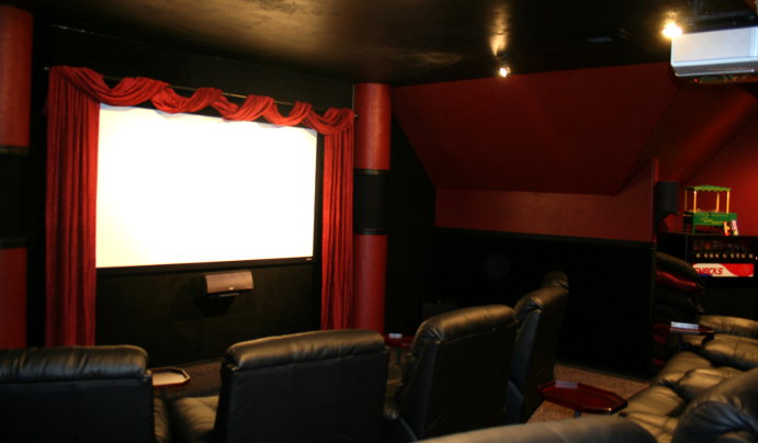 Completed home theater