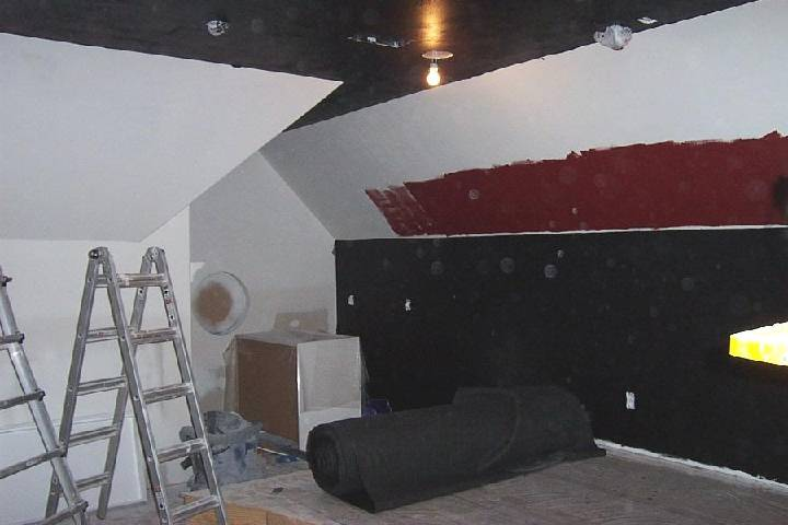 Building a Home Theater - Paint, Sound Absorption, HVAC