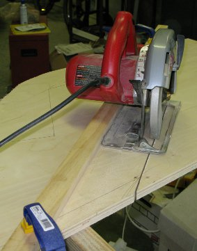 Cutting MAME cabinet sides